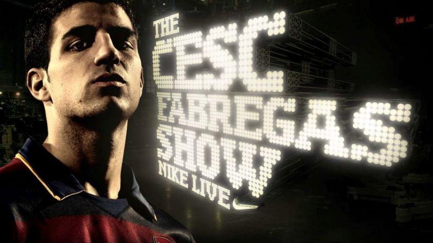 The Cesc Fàbregas Show  Nike Live  6a3036853b